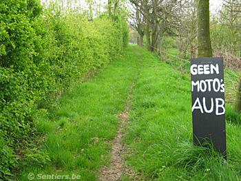 Le « Rotteweg » est désormais sauvé... - © Sentiers.be