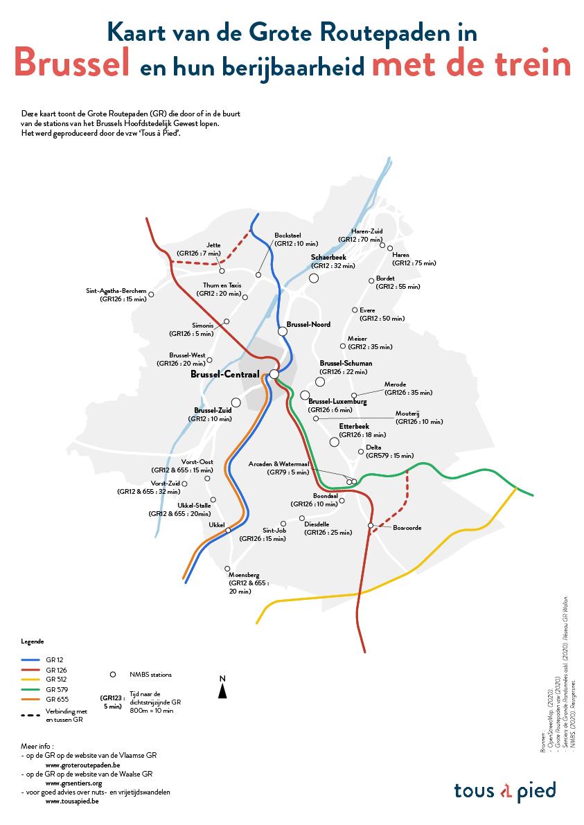 A3 - Bxl-Capitale - Trains - NL