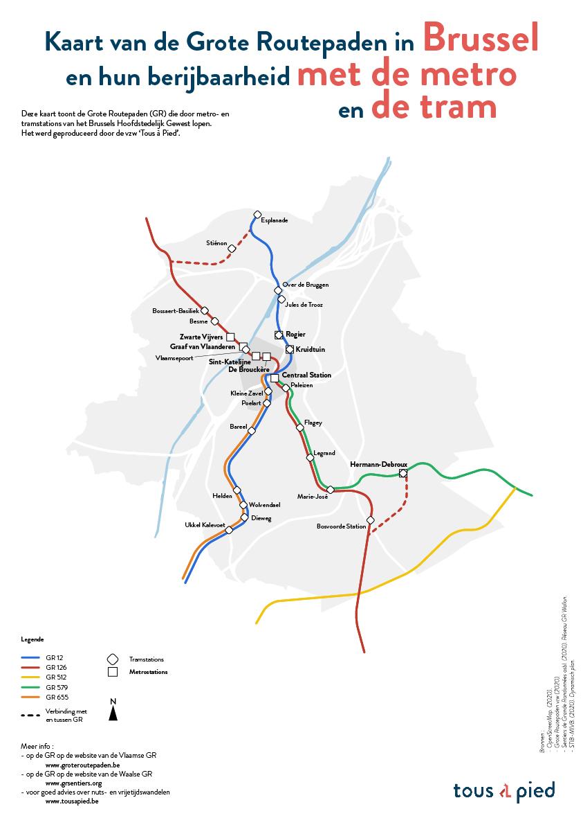 A3 - Bxl-Capitale - métro - NL